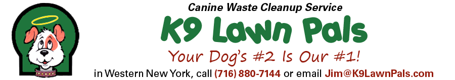 Dog & Pet Waste Removal Pooper Scooper Service Buffalo/Western New York by K9 Lawn Pals